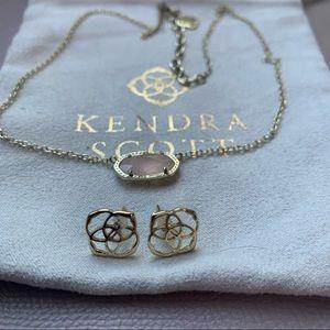 Kendra Scott dira earrings Elisa pendant